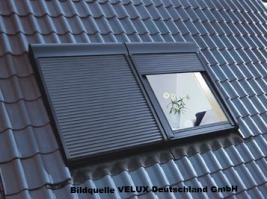 Hitzeschutz Rollladen Dachfenster Roto Velux Frankfurt