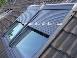 Dachfenster Sollladen Solar Velux Roto Frankfurt 60385
