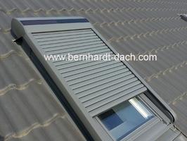 Rollladen Solar Velux Roto Sonnenschutz 60385 Dachdecker