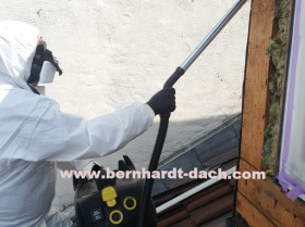 Asbest Abbruch Sauger Fasern Dach 60385