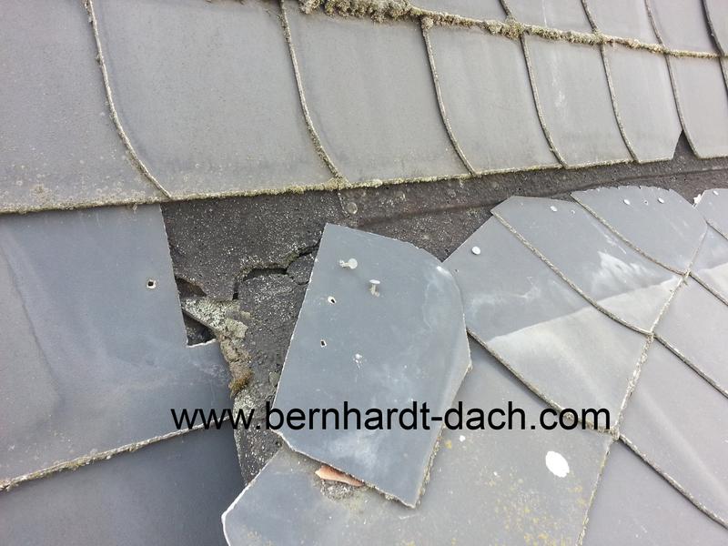 Sturm Dachziegel Schiefer Dachsteine seckbach Bockenheim Dach