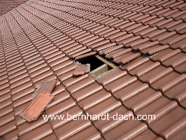 Dachreparatur Sturmschaden Dachschaden Dach Frankfurt Dachdecker