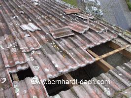 Sturm Dach Dachdecker Frankfurt Braas Dachsteine Dachziegel 60385
