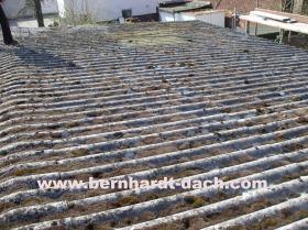 Wellplatte Asbest Eternit TRGS519 Dachplatte