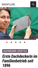 Dachdeckermeisterin Melanie Bernhardt Frankfurt