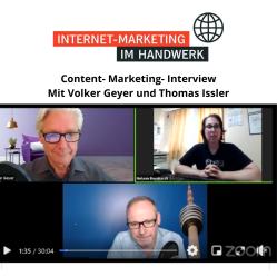 Handwerk Marketing Dachdecker Frankfurt Content