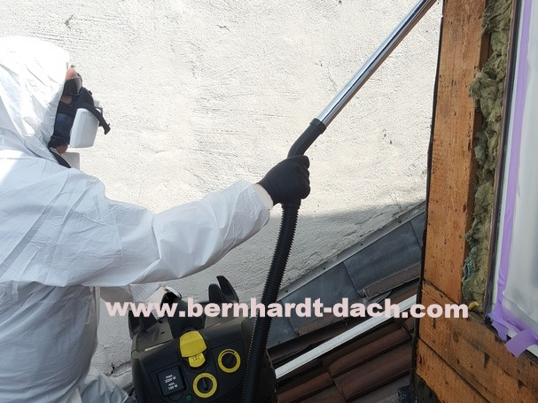 Geliebte F. Bernhardt Bedachung GmbH - Arbeiten an Asbestdächern #LD_57
