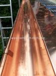 Kupfer Dachrinne Klempner Dachdecker 60385