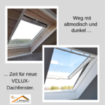 Austausch Dachfenster Dach GPU GGU 60385