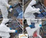 Asbest Dachplatten Eternit Frankfurt 60385 Dachreparatur